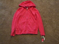 New With Tags Green Tea Womens Zippered Front Hoodie-Size-Small
