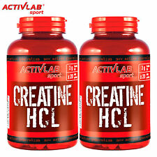 Creatine HCL 120/240 Capsules Ethyl Ester Muscle Development Growth Anabolic