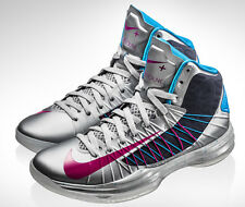 NIKE HYPERDUNK SPORTPACK WOLF GREY/ELECTRIC PINK/BLUE MENS BASKETBALL TRAINERS