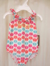 NWT Juicy Couture Baby Infant Girls Polo One Piece Swimsuit 6-12M