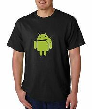 Android Eats Apple,100% cotton T-shirts