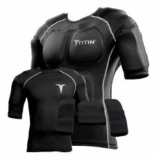 TITIN Full Force Weighted Compression Shirt System Hyper Gravity 14 Pocket Black