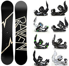 Snowboard Raven Pulse + Bindings Raven s250, s400, s220 or Team  - New!
