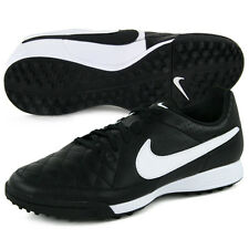 NIke Tiempo Genio leather Turf Soccer Shoes 631284-010 new Retail $65.00
