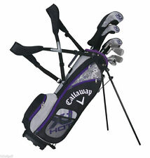 New Callaway XJ Hot Junior Girls Golf Set Ages 9-12 (Right & Left Handed)