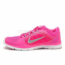 WMNS Nike Flex Trainer 4 [643083-605] Training Pink/Wolf Grey-White
