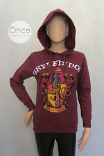 PRIMARK Official HARRY POTTER HOGWARTS GRYFFINDOR Hoodie Jumper Sweatshirt
