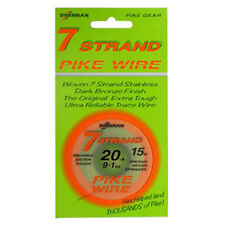 30PLUS Seven Strand Trace Wire, pike & perch fishing, pike traces, trace making