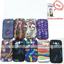 Samsung Galaxy Grand Quattro i8550 case, i8552 cover, stylish case+ screen guard