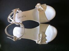 Girls dress shoes baptism, 1st communion & special occasions 8-4