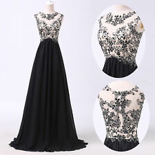 Classy Vintage~ Long party prom dresses Quinceanera dress Formal evening Gowns