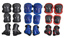 6X Large Adult Skateboard Roller Skating Cycling Elbow Pads Knee Protective Gear
