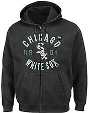 Chicago White Sox Majestic Mens Plate Appearances Hoodie Big & Tall Sizes