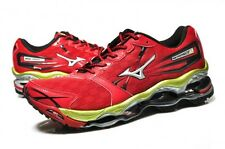 RARE MEN'S MIZUNO WAVE PROPHECY 2 RUNNING SHOES CHINESE RED/SILVER/LIME NEW!