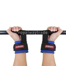1 Pair Gym Weight Lifting Training Bar Gym Straps Wrap Wrist Support Protection