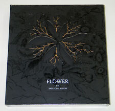 XIA JUNSU (JYJ) - Flower (Vol. 3) CD+Photo Booklet+Photocard+Poster K-POP KPOP