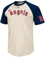 Los Angeles Angels Cooperstown All Star Raglan Mens T Shirt Big & Tall Sizes