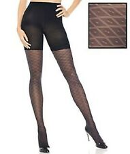 New Assets Red Hot by Spanx Textured Shaping Preppy Diamond Tights #1658