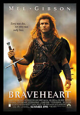 BRAVEHEART Movie POSTER Mel Gibson Game of Thrones