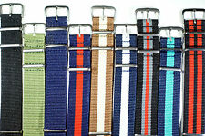NATO watch strap 24mm FREE P&P UK - Add a strap tool and new pins for £1!!!