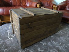 Retro Style Large Storage Chest. Display Crate, Toy Box- Many Designs