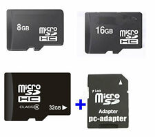OEM 8GB 16GB 32GB Micro SD TF flash Memory Card+SD Adapter