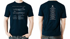 Flyingraphics Aviation themed T Shirt M, L, XL, XXL & XXXL 'Buccaneer'