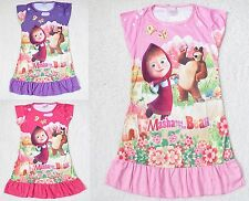 Vestito Bambina Casual - Girl dress - Masha e Orso - Masha and the Bear 00770081