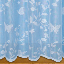 Butterfly Net Curtain ~ Sold By The Metre ~ Lace Voile
