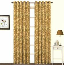 "Skipper RC091716- High Quality Window Eyelet Door Curtains 84"" Long  (Pack of 1)"