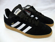 ADIDAS BUSENITZ MENS ADIDAS SKATEBOARDING BLACK METALLIC GOLD GUM SOLE NEW