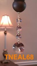 Lot of 6 Magnetic Bohemian Style Crystal Charms Chandelier Lamp Wedding 3B AAA