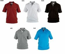 ROCKFORD FULLY COMBED PIQUE POLO SHIRT WITH POCKET, SIZE 1XL-8XL,5 OPTIONS