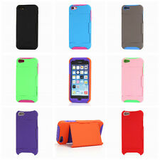 TPU Silicone Protective Case Cover with Credit Card Slot Holder for iphone5/5S