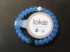 NEW Authentic BLUE Lokai Bracelet Mud from Dead Sea, water from MT Everest S,M,L