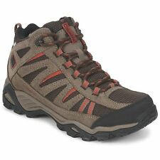 COLUMBIA MENS NORTH PLAINS MID HIKING TRAIL SHOES BOOTS WATERPROOF BREATHABLE