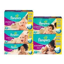 Pampers, Cruisers Diapers, Size 3 4 5 6 7, PICK ANY SIZE & COUNT