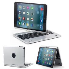 360° Rotation ClamCase NoteBook Look Swivel Bluetooth Keyboard for iPad Air 2