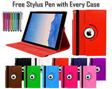 360° Rotate Leather Pu Wallet Folio Folding Stand Case Cover For Apple iPad Air