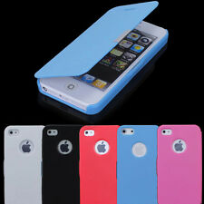 Case Cover Protector PU Leather Magnetic Flip For Apple iPhone 4S 5S Pouch Thin