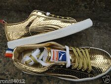 Puma gold Clyde Walt Frazier ltd. edition sneakers shoes