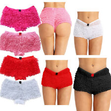 Sexy Women Ruffle Lace Bloomers Brief Bikini Knickers Lingerie Underwear Panties