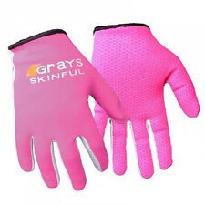 "GRAYS ""SKINFUL"" HOCKEY TRAINING GLOVES (PINK) - PAIR.  FREE POSTAGE."