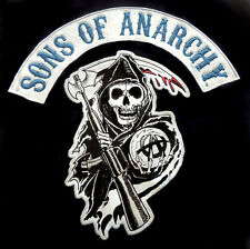 Sons Of Anarchy SOA LICENSED T-Shirt Authentic Biker Patch Reaper Logo Tee