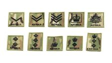 RANK PATCHES (X2) VELCRO® BACKED FOR MOLLE CHEST RIG UNIFORM PACK CARRIER
