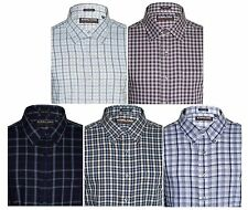 Kirkland Mens Sport Dress Shirt Spread Collar Long Sleeve 100% Cotton Twill NEW