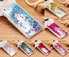 Bling Dynamic Liquid Glitter Star Quicksand Hard Case Cover For iPhone Samsung
