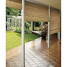 Outdoor Reed Blinds Roll Up Sun Shade Weather Barrier Patio Deck Porch Decor