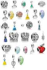 Disney Pandora Charms 2015 Spring Princess Collection, Snow White, Anna & Elsa