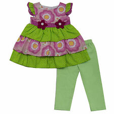 Carter's Kids Baby Girls Outfits Clothes Baby 2 Pcs Top and Pants 12 18 24 M